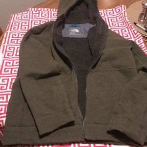 Men's The North Face hooded jacket L